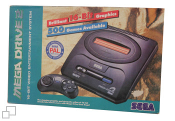 PAL-B/G Alesayi United Mega Drive 2 Box