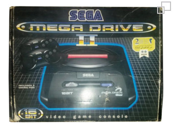PAL-B/G Dotts Mega Drive 2 Box
