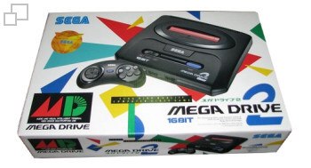 PAL-B Galaxy Group Mega Drive 2 Box
