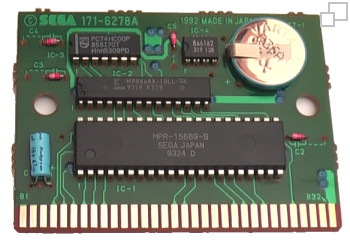 SEGA Mega Drive / Genesis Backup Battery