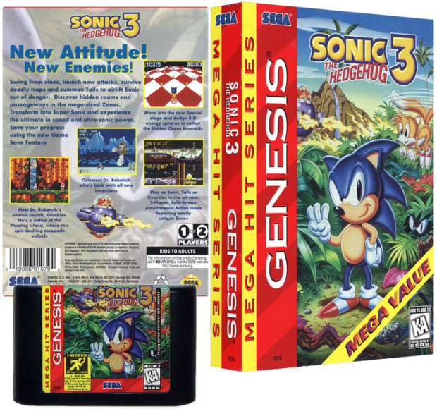 NTSC USA Mega Hit Series Cover